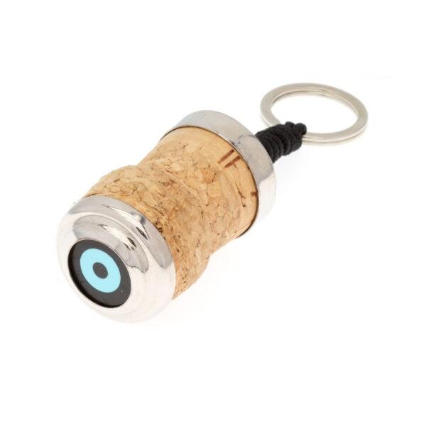 Cork Keyholder Evil Eye