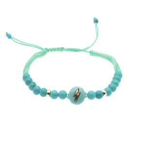 Ceramic summer bracelet