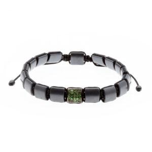 9-karat rose gold Hematite bracelet